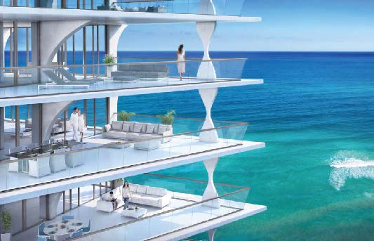 JADE SIGNATURE! A single elegant form rising 57 stories on the sands of Sunny Isles Beach!