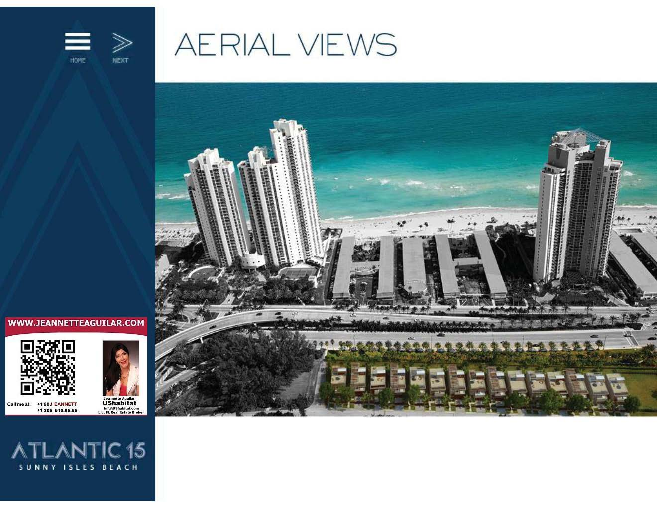 ATLANTIC 15! Exclusive Houses at Sunny Isles Beach! New Develoment by TERRA!