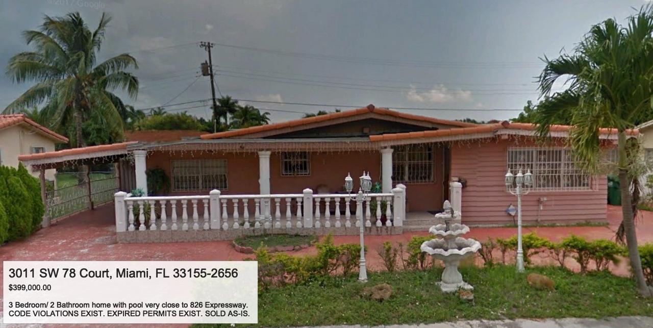 3011 SW 78 Court, Miami, FL, 33155