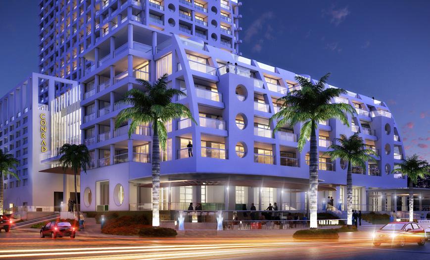 Conrad Fort Lauderdale Beach, Fort Lauderdale, FL