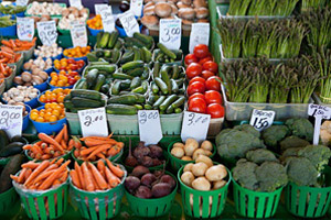 Farmers Market Guide - Southern Chester County PA real estate, property, farms, land, community information