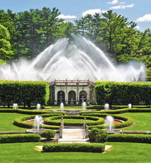 Longwood Gardens- Southern Chester County PA real estate, property, farms, land, community information