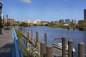 Wilmington Waterfront - Northern Delaware real estate, property, farms, land, community information