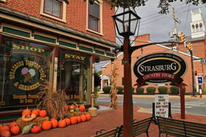 Historic Strasburg - Southern Lancaster County PA real estate, property, farms, land, community information