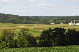 Rolling Farmland - Southern Lancaster County PA real estate, property, farms, land, community information