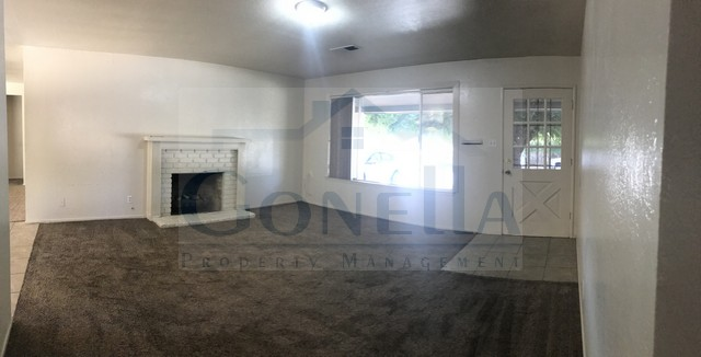 Rent $1395 Deposit $1395 3052 Queens Cir (E. Olive Ave, Right on Queens Circle) 1602 sf living room, kitchen, dining room, landscaped front and back, attached garage. No Pets   Credit Check required = $20 processing fee per applicant (Payable by cashiers' check or money order) All tenants are required to obtain renters insurance of at least 50K prior to signing lease. FOR MORE INFORMATION – CALL GONELLA PROPERTY MANAGEMENT AT (209)383-6277!  Gonella Property Management DRE#01103054