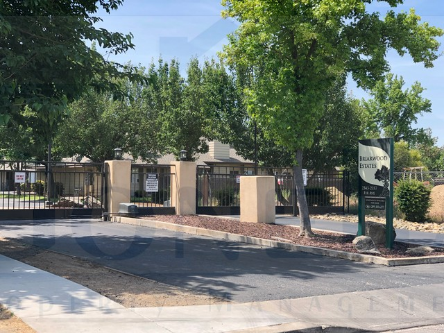 Rent $1075 Deposit $1075  2352 Pinedale Ave #3 (Left on Beachwood, Right on Pinedale) 2 Story town house in  gated community, Living room, kitchen, attached one car garage, laundry hook ups fenced patio. INCLUDES REFRIGERATOR. POOL! No Pets.   Credit Check required = $20 processing fee per applicant (Payable by cashiers' check or money order) All tenants are required to obtain renters insurance of at least 50K prior to signing lease. FOR MORE INFORMATION – CALL GONELLA PROPERTY MANAGEMENT AT (209)383-6277!  Gonella Property Management DRE#01103054
