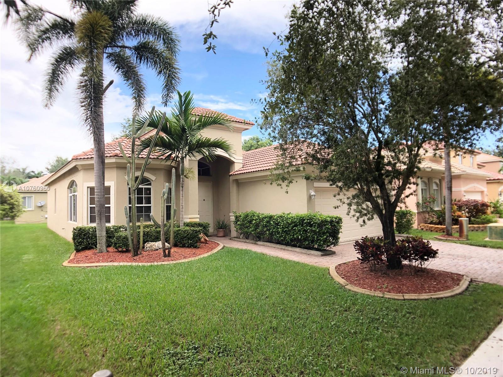 13349 SW 32nd St Miramar, FL 33027    $415,000