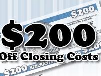 $200 Off At Closing