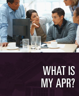 What is my APR?