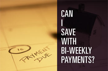 Can I save with bi-weekly payments?