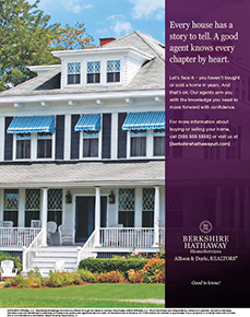 Berkshire Hathaway Home Services PenFed Realty national marketing print campaign example