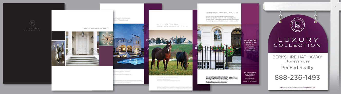 luxury marketing materials