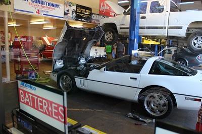 Auto service shop in Fairfield, CA