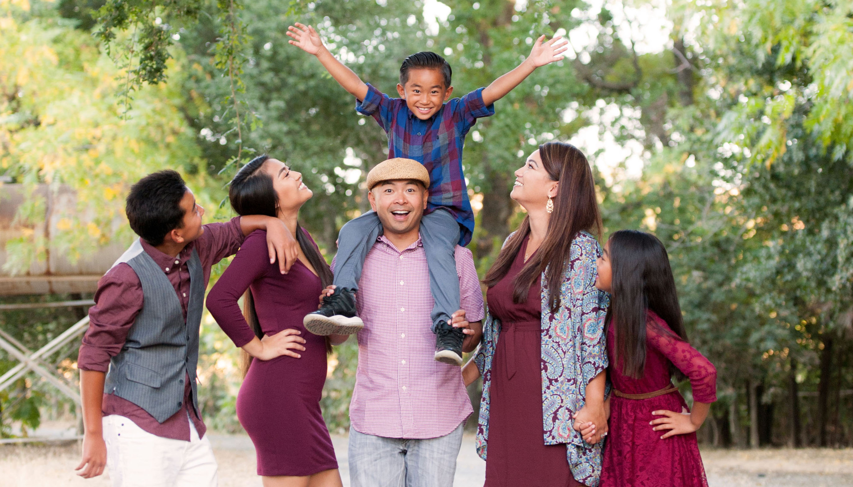 a rualo family portraits fairfield napa solano county