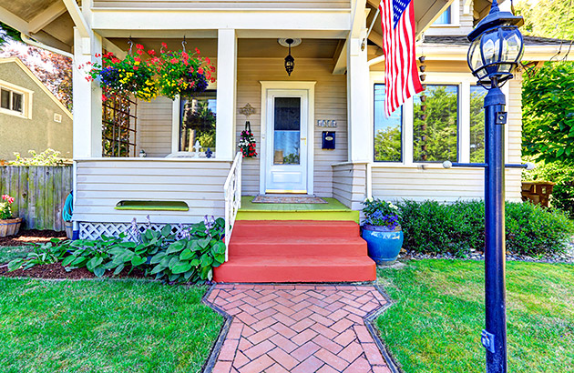 A charming older home with nice curb appeal