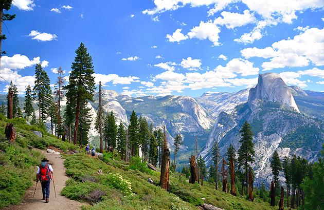 Yosemite National Park Outdoors Skiing and Camping
