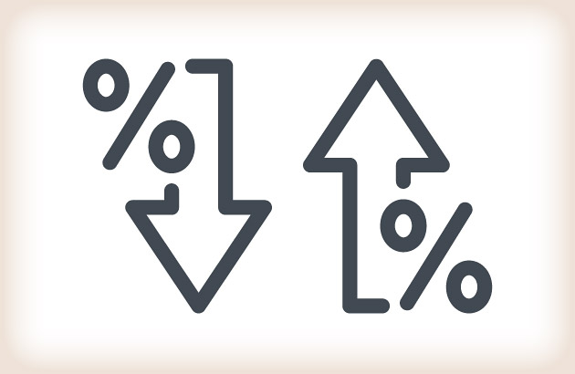 Illustration representing mortgage points