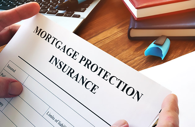 Homeowner holding private mortgage insurance contract