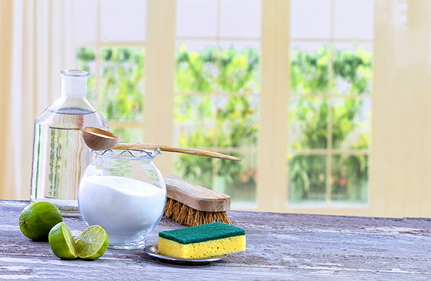 Natural ingredients to make your own eco-friendly cleaning products