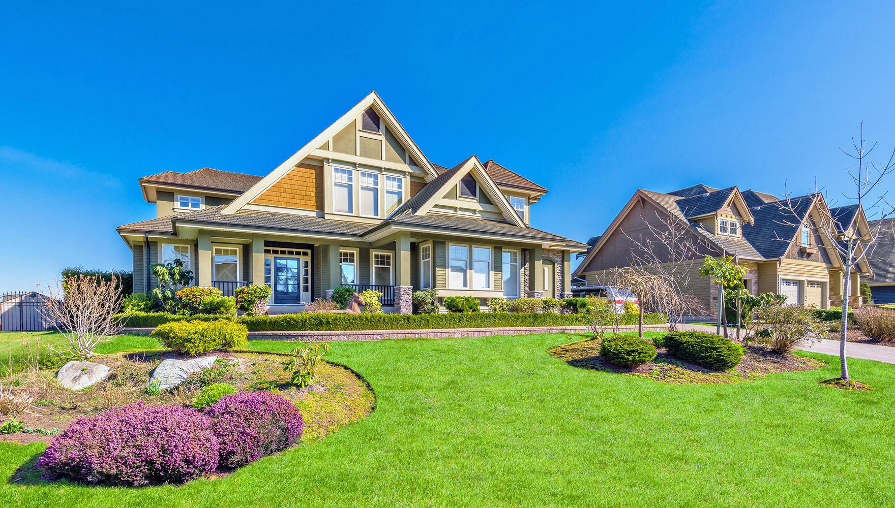 real estate home exterior